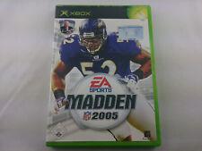 Madden NFL 2005 Microsoft Xbox 2004 DVD Box PAL Spiel Game