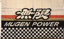 Mugen Power Flag 3x5 Motorsports Banner Japanese Honda Car Parts Garage Man Cabe