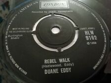 "DUANE EDDY * BECAUSE THEYR'E YOUNG / REBEL WALK * 7"" SINGLE LONDON 1975 VG"