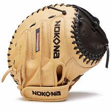 Nokona SKN Series 32.5 Inch SKN-V3250C-BLK Fastpitch Softball Catcher's Mitt