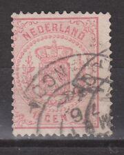 NVPH Netherlands Nederland nr 16 used Wapenzegel Pays Bas 1869-1871