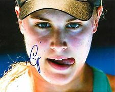 EUGENIE BOUCHARD - HAND SIGNED 8x10 PHOTO AUTHENTIC AUTO PICTURE w/ COA