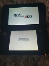 Nintendo 3ds xl metallic blue incs case and charger