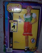 Gretel Halloween Costume Octoberfest Women's Adult NIP