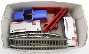 MSW Stadtilm Diesellok + 2 Containerwagen + 13 Gleise Spur S DDR Anker Mängel