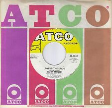 ROXY MUSIC  Love Is The Drug / Both Ends Burning  original 45 from 1975