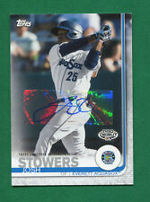 2019 Topps Pro Debut Auto #198 Josh Stowers - Everett Aquasox - Signed