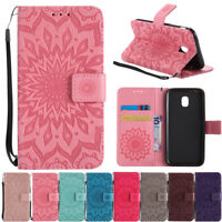 For Samsung Galaxy J5/J7 Pro Case Magnetic Flip Stand Card Wallet Leather Cover