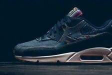 NIKE AIR MAX 90 AFRO Punk Denim Pack Limited Edition Taglia UK 9 US 10 EU 44 NUOVO CON SCATOLA