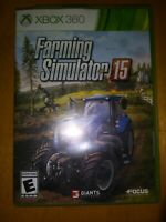 Farming Simulator 15 Microsoft Xbox 360 2015 Complete w/ disc case and manual