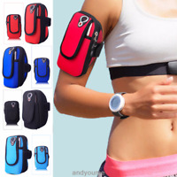 Sport Armband Running Jogging Gym Arm Band Pouch Holder Bag For Phone iPhone New