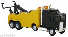HO Scale Kenworth K100 Heavy Duty Wrecker Truck - Black & Yellow - Herpa #6444