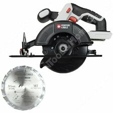"Porter Cable PCC661 20V 5-1/2"" Circular Saw New uses PCC680L PCC681L PCC685L"