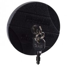 Locking Fuel Filler Cap, Black; 78-90 Jeep Models