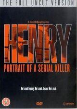 HENRY PORTRAIT OF A SERIAL KILLER UNCUT MICHAEL ROOKER OPTIMUM UK REGN 2 DVD NEW