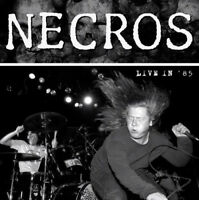The Necros - Live in '85 [New Vinyl LP] Ltd Ed