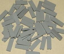 LEGO LOT OF 50 NEW 1 X 2 X 5 LIGHT BLUISH GREY PILLARS BUILDING BLOCKS HOUSE