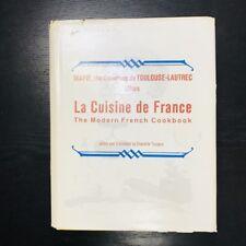 La Cuisine de France The Countess de Toulouse-Lautrec 1964 Hard Cover Cookbook