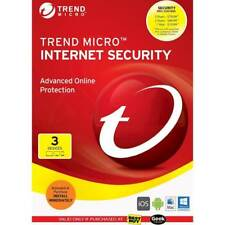 Trend Micro Internet Security Advanced Online Protection - 3 Devices