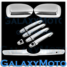 07-10 Toyota Camry Triple Chrome Mirror+4 Door Handle+Tailgate Liftgate Cover