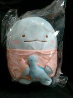Bandai Ichiban Kuji Sumikko Gurashi Lizard Tokage Plush Doll Stuffed Toy Prize D