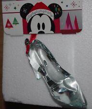 Disney Store Cinderella Glass Slipper Shoe Ornament Christmas bauble decoration