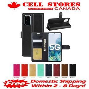 Leather Magnetic Credit Card Slot Wallet Flip Case Cover for Samsung S20 FE 5G