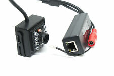 "SONY 1/2.8"" 1080P CMOS SENSOR 2MP IR LEDS MINI POE IP HIDDEN / COVERT CAMERA"