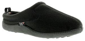 Mens Fleece Mule Slippers. UK Size