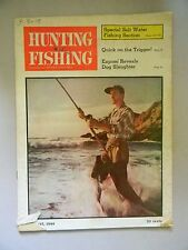 Hunting and Fishing Magazine August 1949- Special Salt Water Fishing Section