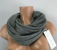 Lululemon All That Shimmers Scarf Medium Gray NEW Merino Wool Wrap