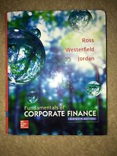 Fundamentals of Corporate Finance 11th Edition Hardcover Textbook 9780077861704