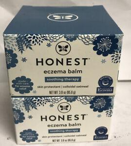 2 Pack- The Honest Company Eczema Balm 3oz