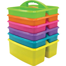 Classroom Table Storage Caddy - Set of 6 Bright Colours