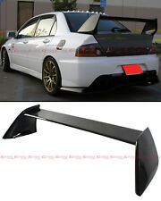 For 2002-2007 Mitsubishi Lancer Evo 7 8 9 Painted Black Rear Trunk Spoiler Wing