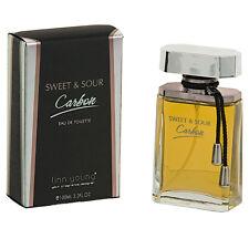 Perfume Sweet & Sour Carbon For Men 3.3 oz Eau de Toilette by Linn Young