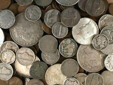 New ListingCoin Grab Bag Lot Of Old Us Silver Dollars, Half Dollars, Dimes, Nickels, Cents