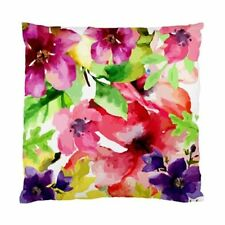Satin Art Floral Decorative Cushions & Pillows