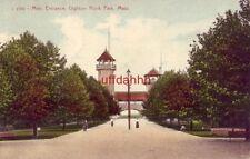 Main Entrance Dighton Rock Park 1916
