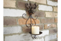 Christmas Stag Metal Wall Sconce Candle Holder | Decorative Lighting