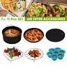 6tlg Zubehör Set 7'' Für 3.2 - 6.8QT Heißluftofen Heißluftfritteuse Fritteuse
