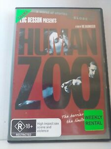 Human Zoo Region 2 & 4 DVD R18+ Sex Violence RARE ex rental FREE SHIPPING