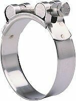 """Tridon  59mm 2.25""""  Stainless Steel  T-BOLT CLAMP - Silicone  Hose Clamp - Qty 2"""