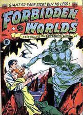 Forbidden Worlds 1-145 on DVD
