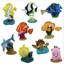 Finding Nemo Marlin Dory Playset 9 Figure Cake Topper * USA SELLER* Toy Doll Set