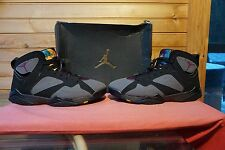 Nike Air Jordan 7 Retro Bordeaux Black Light Graphite Midnight Fog Size 12 (1688