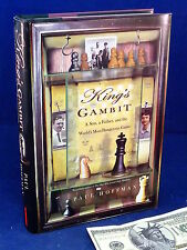 King's Gambit Paul Hoffman Chess Book History Biography Psychology 1st Edition