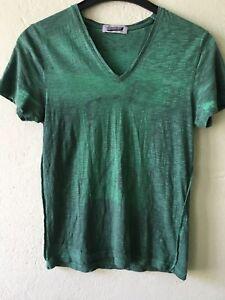 TOPMAN Topshop Men Herren T-Shirt Tee  Smaragd Green Grün Saphire Size XS