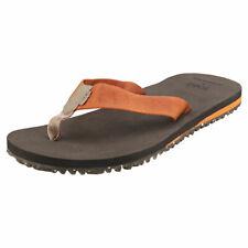 Toms Lagoon Mens Caramel Textile Beach Sandals