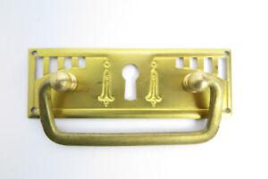 Fogging Brass Cupboard Handle Drawers Handle Antique Art Nouveau Gründerzeit